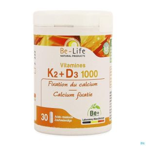 Vitamines K2 D3 1000 Be Life Caps 60