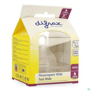 Difrax Tetine Natural Wide Large 678