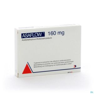 Asaflow 160mg Comp Gastro Resist Bli 56x160mg