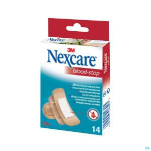Nexcare 3m Bloodstop Assorted 14 N1714as