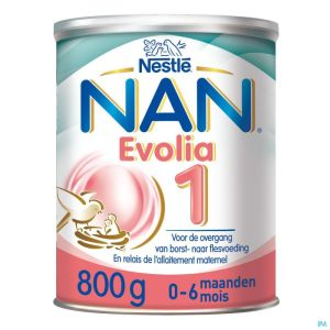 Nan optipro evolia 1 lait pdr  800g