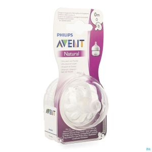 Philips Avent Natural 2.0 Tetine Firstflow SCF040/27