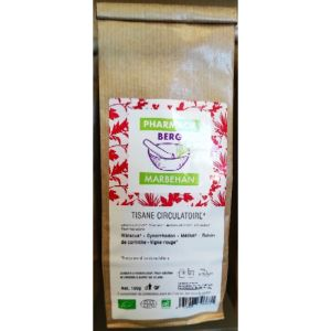 Pharmacie Berg Tisane Circulatoire 100g